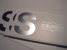 Sleek Simple Design - plus lovely email address idea