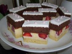 Hungarian Recipes, Hungarian Food, Cake Cookies, Nutella, Fondant, Cheesecake, Dessert Recipes, Food And Drink, Cooking Recipes
