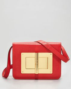 Medium Natalia Goatskin Bag by Tom Ford at Neiman Marcus.