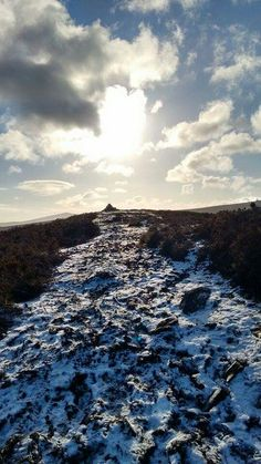 Snowy Wicklow Mountains
