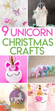 9 unicorn christmas crafts to diy this holiday season *christmas* единорог, Diy Christmas Presents, Christmas Crafts For Kids To Make, Diy Crafts For Kids, Christmas Diy, Christmas Things, Holiday Gifts, Christmas Wreaths, Xmas, Craft Gifts