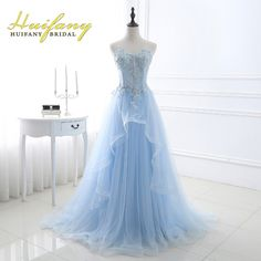 Prom Dress Princess, A Line Sweetheart Corset Light Blue Tulle Ruffle Applique Beaded Prom Dress Shop ball gown prom dresses and gowns and become a princess on prom night. prom ball gowns in every size, from juniors to plus size. Ball Gowns Evening, Blue Evening Dresses, A Line Prom Dresses, Bridesmaid Dresses, Prom Gowns, Evening Party, Wedding Dresses, Light Blue Prom Dresses, Light Blue Wedding Dress