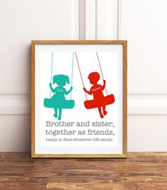 girl and boy shared room brother sister / girl and boy shared room Boy And Girl Shared Room, Boy Girl Room, Sibling Gifts, Playroom Art, Boys Room Decor, Gifts For New Moms, Diy Gifts, Art For Kids, Brother Sister