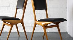 1950s chairs by carlo de carli in modern room website