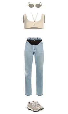 """Untitled #73"" by suprememorggga ❤ liked on Polyvore featuring Yeezy by Kanye West, RE/DONE, Prada, NIKE and Kansai Yamamoto"