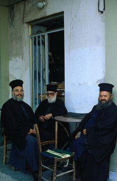 Greek priests , Rhodes
