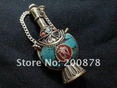 2016 Tbp517 Tibetan Om Kalachakra Amulet Pendant, 8cm,Nepal ...