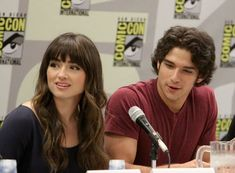 Tyler Posey and Crystal Reed....they looked innocent here....