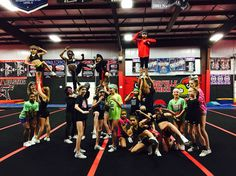 Cheer practice theme Ninja night