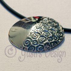Zilverklei hanger | Silver Clay Pendant