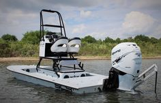 Is This The Fastest Flats Boat Ever Built? Watch This Boat Do 75MPH With Ease!