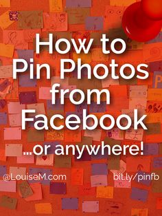 How to Pin Photos from Facebook: Cool FREE Tool!