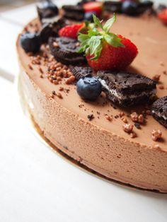 Chocolatemousse cake