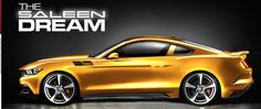 Saleen Ford Mustang 2015 GT Tuning