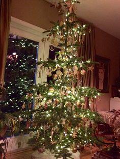 Oh Christmas tree! 2015 crystal, cream and mixed metallics....