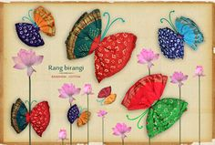colourful bandhani cotton sarees