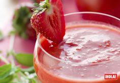 Muy refrescante: pon un toque dulce a tus gazpachos