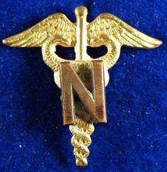 WW II U.S. Army Nurse Corps Branch Insignia