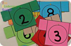 La percha de los números - Aprendiendo matemáticas