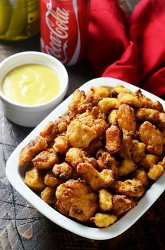 Baked Chicken Nuggets with Honey Mustard Dip. This baked version of the famous Chick-Fil-A nuggets is healthier, hassle-free, absolutely delicious, and easy to make at home! | hostthetoast.com