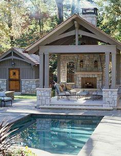 Gorgeous backyard with deck, patio, pool!