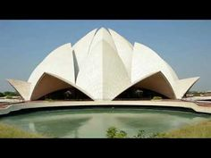Lotus Temple - Bahá'í House -  New Delhi, India, New Delhi, Delhi India, Tourist Places, India Travel, Incredible India, My House, The Incredibles, Exterior