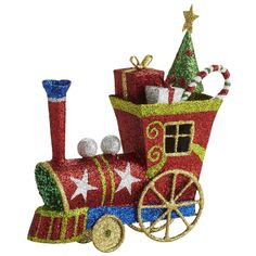 Oh What Fun: Pier 1 Glitter Train Ornament