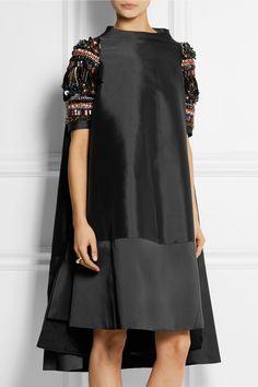 Biyan|Alana embellished shantung dress|NET-A-PORTER.COM