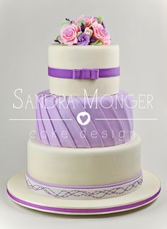 10 Best Lilac Purple Themed Wedding Cakes Images Themed Wedding