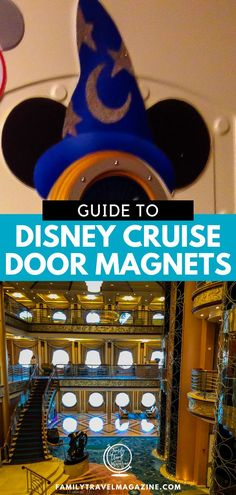 Tips for decorating your Disney Cruise Line stateroom door, including places to get graphics and magnets and ways to DIY your own cruise door magnets. Disney Cruise Door, Disney Dream Cruise, Disney Cruise Tips, Walt Disney World Vacations, Best Cruise, Family Vacation Destinations, Family Vacations, Vacation Ideas, Family Travel