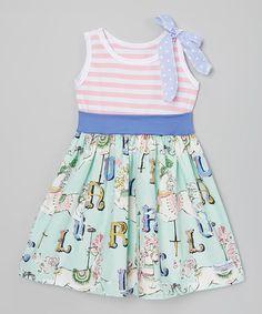 Mint Carousel Dress - Infant, Toddler & Girls #zulily #zulilyfinds