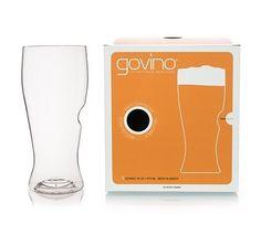4 Govino 16 Oz Beer Glasses  Go Anywhere Travel Thumb Shatterproof Flexible