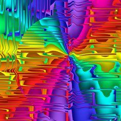 by MadFractalist on DeviantArt Bright Wallpaper, Rainbow Wallpaper, Pattern Wallpaper, Trippy, Worlds Largest, Fractals, Ios, Digital Art, Neon Signs