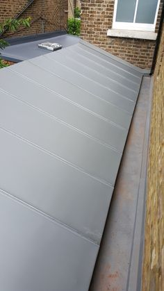 A small roof I did in South London a few years back. Zinc Roof, South London, Projects, Log Projects, Blue Prints