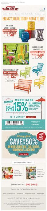 World Market outdoors email 2014