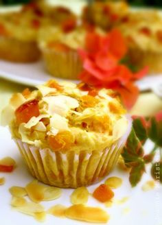 Recipe for Mango and Almond Muffins