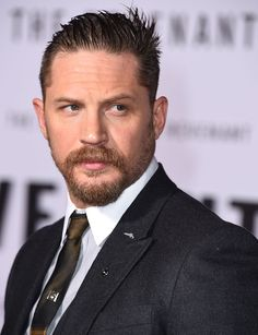 Tom Hardy arrives at the Premiere Of 20th Century Fox And Regency Enterprises' 'The Revenant' at TCL Chinese Theatre on December 16 2015 in Hollywood...