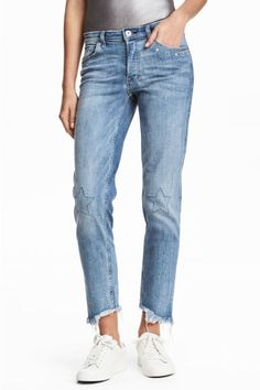 Loose Regular Jeans - Niebieski denim - ONA | H&M 139.90