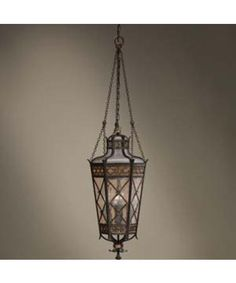 Fine Art Lamps 402582 Chateau Outdoor 4 Light Outdoor Hanging Lantern