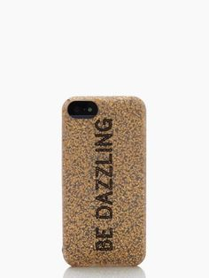 kate spade, be dazzling silicone iphone 5 case - $35