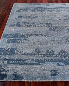 Exquisite Rugs Baker Hand Knotted Wool Area Rug 10 X 14 Wool