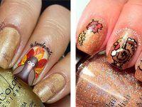 18-turkey-nail-art-designs-ideas-2016-thanksgiving-nails-f