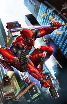 Deadpool - Greg Horn