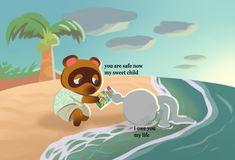 Animal Crossing Fan Art, Animal Crossing Memes, Animal Crossing Characters, Stupid Memes, Funny Memes, Pokemon, Cute Art, Character Art, Funny Animals