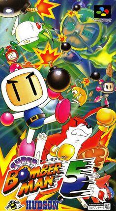 Super Bomberman 5, Super Famicom.