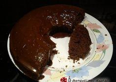 Νηστίσιμο κέικ σοκολάτα πορτοκάλι