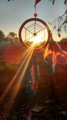 Dreamcatcher in the sunlight