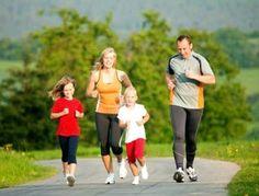 jogging family