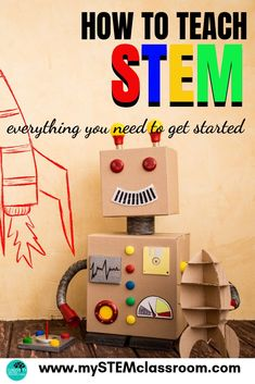 How to teach STEM - everything you need to get started Science Lessons, Teaching Science, Science Resources, Science Experiments, Coding For Kids, Math For Kids, Stem Activities, Activities For Kids, Stem Science