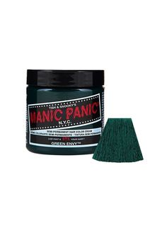 Sally Beauty offers Manic Panic Semi-Permanent Hair Colors for a bold and fearless hair color that last weeks. Manic Panic is a direct hair dye that requires no mixing, and is PPD, ammonia, and paraben-free. Vegan and cruelty-free formula. Purple Haze, Deep Purple, Pink Purple, Blue Green, Cabello Manic Panic, Cheveux Manic Panic, Manic Panic Colors, Manic Panic Hair Color, Cheveux Oranges